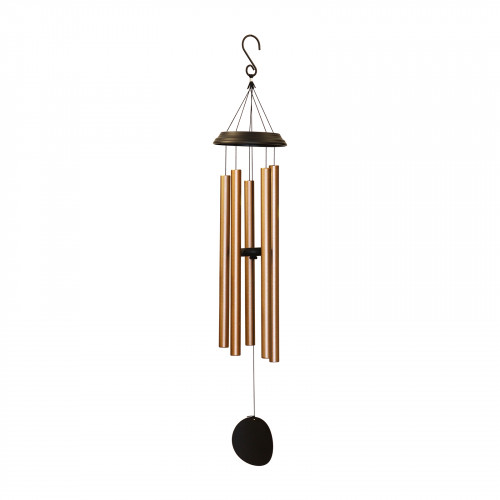 "No.PT1045BZ Concerto Musical Wind Chime - 48"" Bronze"