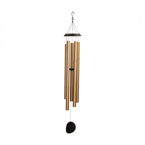 "No.PT1047BZ Concerto Musical Wind Chime - 60"" Bronze"