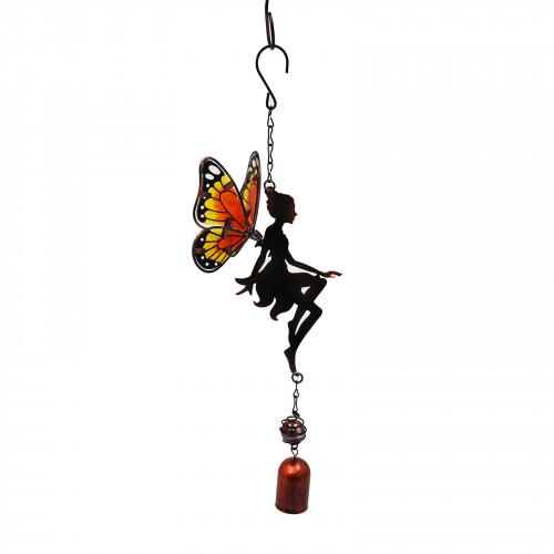 No.PT3001 Orange Hanging Fairy Bell Chime