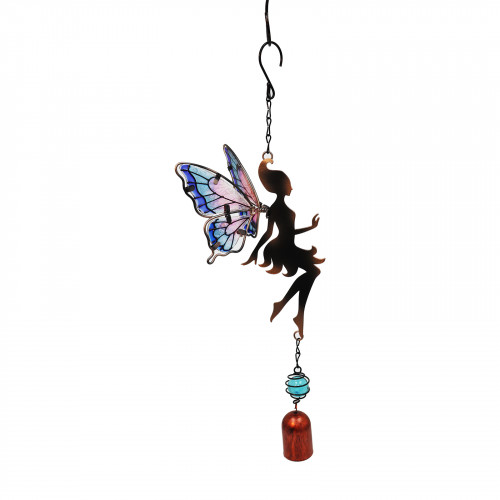 No.PT3002 Lilac Hanging Fairy Bell Chime