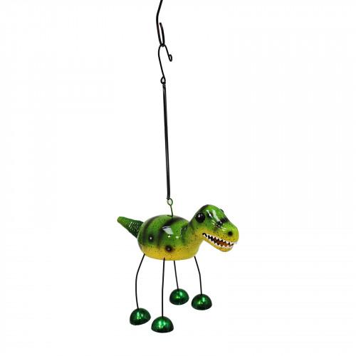 No.PT4101 Green Bobbin T-Rex Dino Bell