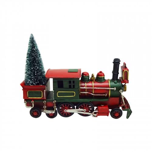 No.PXM3040 LED Vintage Xmas Train - Medium