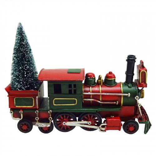 No.PXM3050 LED Vintage Xmas Train - Medium