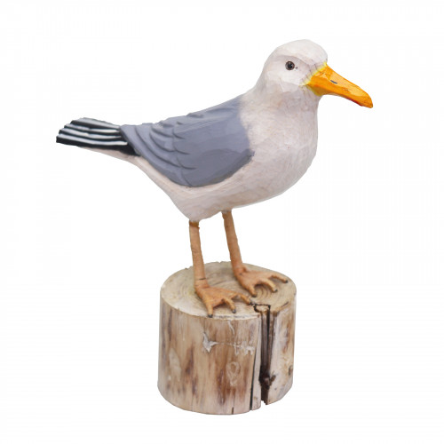 RSPB Hand Carved Wooden Seagull