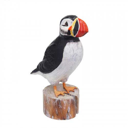 RSPB Hand Carved Wooden Puffin