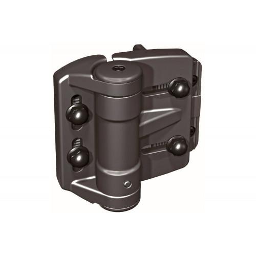 No.TCAMA1 D&D TruClose Regular Multi-Adjust Hinges - for Metal Gates