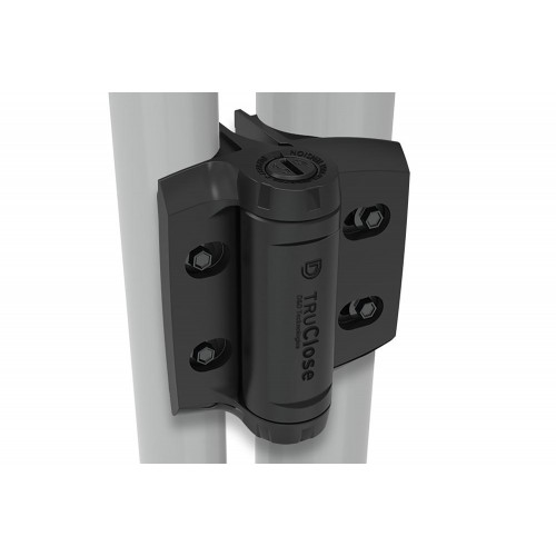 D&D TruClose Round Heavy Duty Hinges - for Different Diameter Gate Frames & Posts