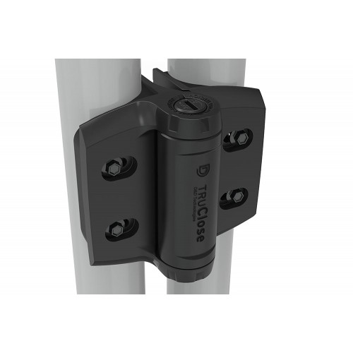 D&D TruClose Round Heavy Duty Hinges - for 48-51mm Gate Frames & Different Diameter Posts