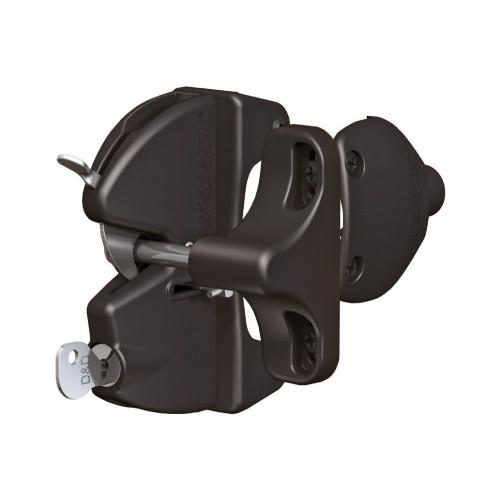 D&D LokkLatch Round with External Access Kit - Wafer Key
