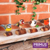 RSPB Hand Carved Wooden House Sparrow